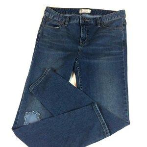 Free People Split Knee Women's Skinny Jeans Sz 29